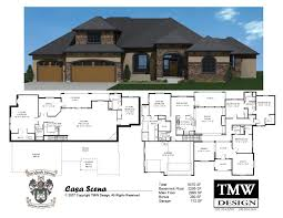 ranch style house plans with basements daylight basement house plans modern 2 bedroom cottage with home