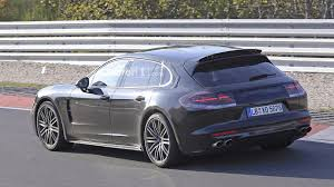 gray porsche panamera 2018 porsche panamera sport turismo render is a sign of things to come