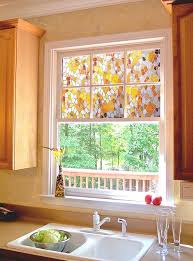 faux stained glass kitchen cabinets diy faux stained glass window 03 your projects obn