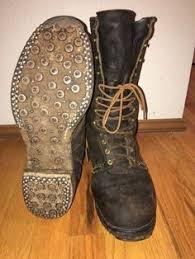 s boots size 9 1 2 039 s boots 1940 039 s size 8 lineman logger arborist