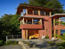 fair architecture home design of lakeside house with exterior and