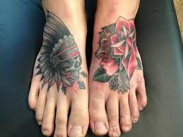 my feet courtesy of ryan 454 tattoo tattoos