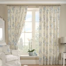 Shabby Chic Voile Curtains by Blue Francesca Curtain Collection Dunelm Curtains For A Grey
