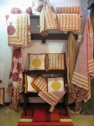 hand block print love kilol fabric jaipur the keybunch decor blog haldi kum kum range