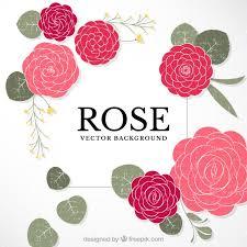 imagenes de rosas vintage fondo de rosas vintage dibujadas a mano descargar vectores gratis