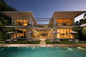 design house in miami inspiring two storey house with modern patio and swimming pool