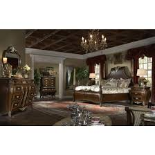 Aico Furniture Bedroom Sets by Aico Imperial Court 5pc King Size Poster Bedroom Set In Radiant
