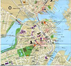 Boston College Map by Where Was The Actual Boston Tea Party Site