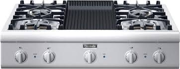 Thermadore Cooktops Thermador Pcg364el 36 Inch Gas Cooktop With Star Burners 2 W