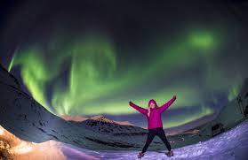 northern lights iceland november ski iceland