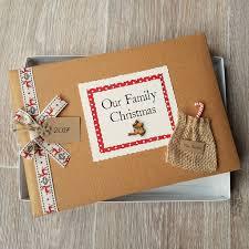 photo album scrapbook personalised christmas keepsake scrapbook album by vintage twee