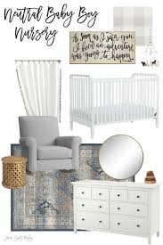 Baby Boy Color Schemes Neutral Baby Boy Nursery Inspiration Home Sweet Ruby