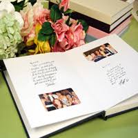 polaroid guest book album personalized instant photo guest books