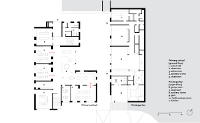 floor plan for kindergarten classroom educational ensemble terenten on architizer