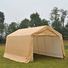 Patio Tent Gazebo by Outsunny 10 5 U0027 X 17 U0027 Carport Gazebo Canopy Garden Party Tent With