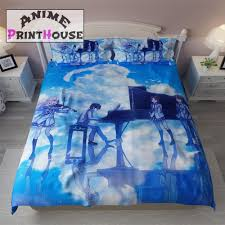 Anime Bed Sheets Your Lie In April Bed Set Bed Sheets U0026 Pillow U2013 Anime Print House