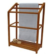 Free Standing Towel Stands For Bathrooms Bathroom Wooden Standing Towel Rack Free Standing Towel Racks