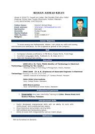 Best Resumes Formats by Resume Template Proper Format Design Mla With 81 Breathtaking