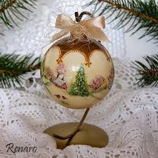 113 best decoupage balls images on