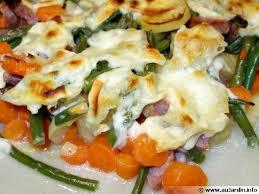 cuisiner saucisse de morteau gratin de légumes et saucisse de morteau recette de cuisine