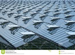 Greenhouse Windows by Greenhouse Roof With A Lot Of Opened Windows Stock Photo Image
