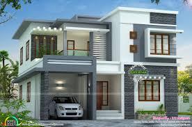 flat roof home designs kerala ideasidea