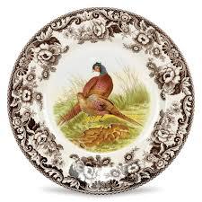 spode woodland dinner plate pheasant 10 5 inch spode uk