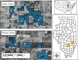 Robinson Illinois Map by Genetic Rescue And Conservation Reliance Open Science