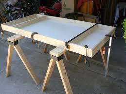 Model Building Desk Dan Becker U0027s Model Trains Building A Table