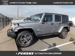 sahara jeep 2017 new jeep wrangler unlimited sahara 4x4 at landers serving