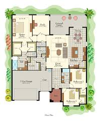 floor plans for large homes 55 plus community in florida siena at solivita av homes
