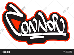 Name Style Design by Connor Graffiti Font Style Name Hip Hop Design Template For T