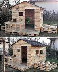 playhouse shed plans 20 amazing plans for wood pallets repurposing playhouses