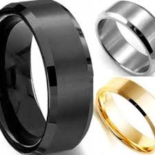 mens black titanium wedding rings shop black titanium wedding rings for men on wanelo