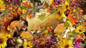 cute fall wallpapers squirrel tag wallpapers flowers squirrel firefox toadstools