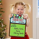 personalized christmas cookies u0026 milk for santa collection