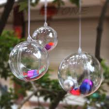 projects ideas clear fillable christmas ornaments impressive
