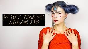 star wars queen amidala makeup tutorial padme halloween youtube
