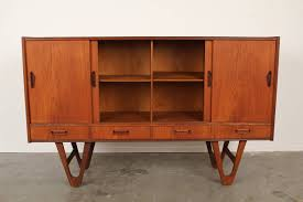 Hairpin Legs Los Angeles by Midcentury Danish Teak Credenza Or Buffet With Hairpin Legs At 1stdibs