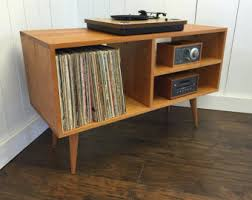 Record Player Cabinet Plans Record Cabinet Etsy