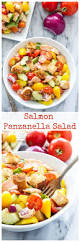 salmon panzanella salad recipe runner