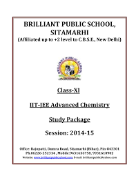 doc 117 b p s xi chemistry iit jee advanced study package 2014 15