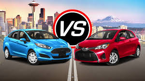 toyota yaris or ford 2016 ford st vs 2016 toyota yaris spec comparison