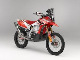 honda launches dakar assault with the new crf 450 rally