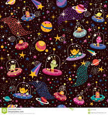 pattern illustration tumblr cute aliens pattern stock vector illustration of childhood 29718483
