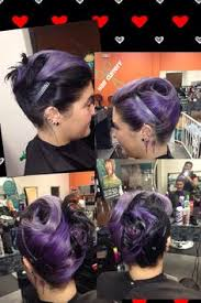 teal and blue dip dye hair by lana at hair cuttery lebanon