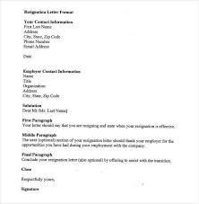 sample of resignation letters best 25 resignation letter ideas on