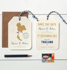 luggage tag save the date location wedding abroad save the date luggage tag wedding abroad