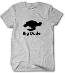 big dude tshirt finding nemo shirt disney movie shirt crush