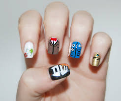 doctor who nail art time for twelve adventures in acetone doctor